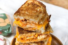 Buffalo Chicken Grilled Cheese Sandwiches are sure to satisfy any buffalo chicken craving! I've said it before but I'll say it again – I am a super fan of anything with Buffalo Chicken. I'm not even a huge fan of buffalo chicken wings (but if we're going there – boneless all the way), but give...Read More »