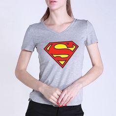 Summer-Superman T-Shirt for Women