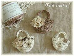 Firefly Crochet mini bags ✤ ke