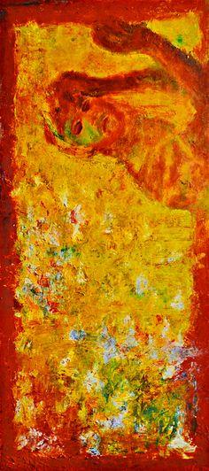 "Yury Ermolenko, ""HIS SLEEP"", ( ""13.ICONOSTASIS"" project), 2004, oil on canvas, 200x90 cm. #YuryErmolenko #еrmolenko #ЮрийЕрмоленко #ермоленко #yuryermolenko #єрмоленкоюрiй #ЄрмоленкоЮрiй #юрийермоленко #юрiйєрмоленко #ермоленкоюрий #ЮрiйЄрмоленко #єрмоленко #rapanstudio #modernart #fineart #contemporaryart #painting #art #живопись #texture #metaphysics #metaphysical #mystery #современноеискусство #живопис #текстура #сучаснемистецтво #iconostasis #secret #sacral"