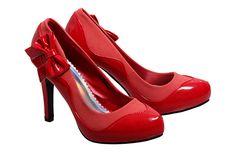 Red Free 2BU Heels