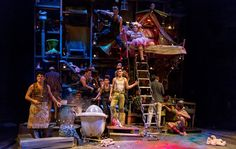 Wendy and Peter Pan - RSC - designed by RWCMD graduate Colin Richmond
