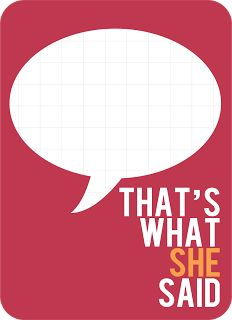 "That's what she said... My Sister's Suitcase: {Project Life} free ""quoted"" journaling cards"