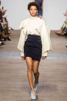 Topshop Unique Spring 2017. See all the best runway looks from London Fashion Week here: