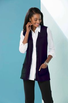 Boyfriend Sweater Vest: Classic Women's Clothing from #ChadwicksofBoston $15.99 - $44.99