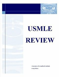 USMLE STEP 1 Review Questions Statistics by USMLE STEP 1 REVIEW. $1.09. 11 pages
