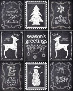 Christmas is Coming ~ FREE printable Christmas gift tags! on imgfave