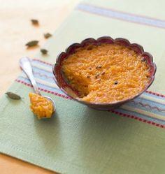 Halwa de carottes à la cardamome - les meilleures recettes de cuisine d'Ôdélices