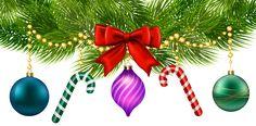Christmas Decoration PNG Clip Art Image