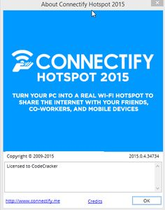 Connectify Pro 2015 Crack Plus Lifetime License key Free