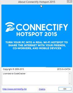 Connectify Pro 2015 Crack Plus Lifetime License key Free