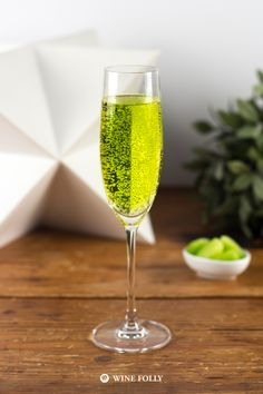Here are 4 wine cocktails that will make your St. Patrick's Day super green. These drinks aren't too sweet or alcoholic, which makes them great for a party.