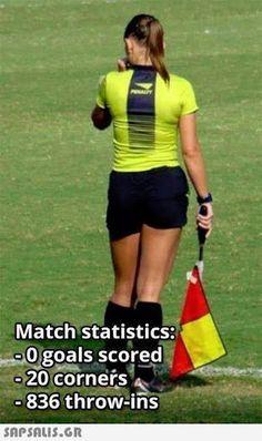 Match statistics: Ogoals scored 20 corners 836 throw-ins snPSALIS.GR