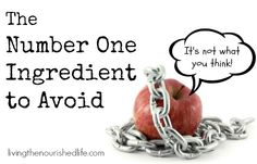 The Number One Ingredient to Avoid (It's Not What You Think!)