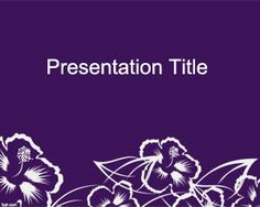 Free Wildflower PowerPoint Template is a free theme for PowerPoint presentations that you can download to enhance your presentations in PowerPoint and decorate your slides