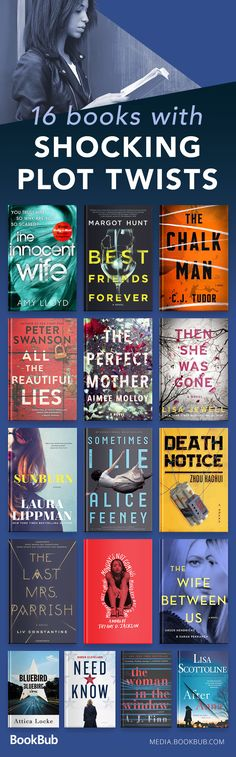 Reading lists: books with plot twists. These novels are worth reading!