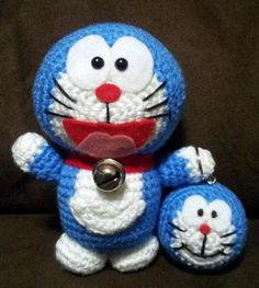 Looking for crocheting project inspiration? Check out Doraemon by member JNArts.