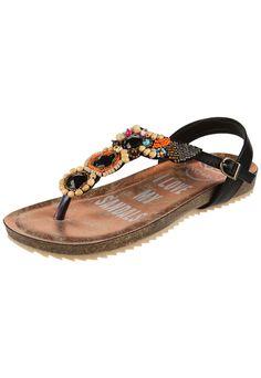 Sandalia Negra Anca & Co. Sunita - Comprá Ahora   Dafiti Argentina Sandals, Fashion, Shopping, Black Sandals, Zapatos, Argentina, Black, Shoes Sandals, Moda