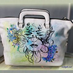 Custom-made bag for Dra. Senerpida. #handpaintedbag #artbag #ncatigbemd #fairy #handpainted