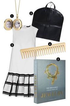 See what ELLE editors are loving: a gold comb, special locket, and jewelry bible