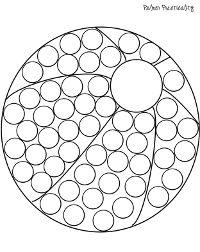 Palmer Practicality: Do a Dot Printables