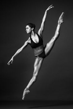 The Art Reference Blog | Misty Copeland by Henry Leutwyler