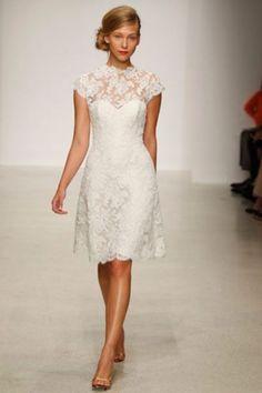 61 Fabulous Short Wedding Dresses For Every Style   HappyWedd.com