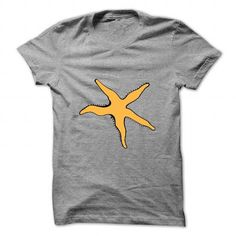 Awesome Tee Starfish yellow T-Shirts