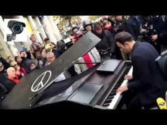 "Paris Attacks: What made Davide Martello bring his piano to play John Lennon's ""Imagine""? - YouTube"