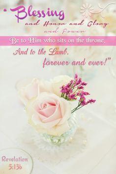 Revelation 5:13b