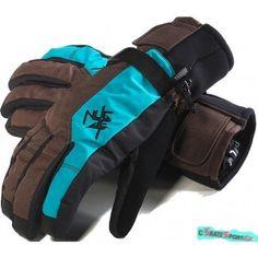 c7c77b15c8d Pánské snb rukavice Nugget Saxo deep brown-bluebird. http   www.