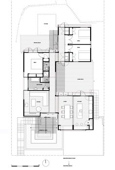 Image 13 of 18 from gallery of offSET Shed House / Irving Smith Jack Architects. Floor Plan