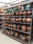 Leuk als decoratie; oude potten!