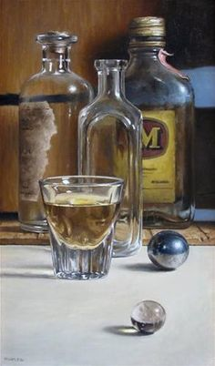 Michael Naples is an American painter best known for his still life, commissioned portraits, and landscapes. Antique Collection by Michael Naples Painting Still Life, Still Life Art, Cristal Art, Photo Macro, Hyper Realistic Paintings, Modern Paintings, Still Life Photos, Realism Art, Still Life Photography