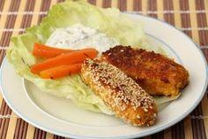 Baby Rezept. Gemüse-Haferflockensticks für BLW-Anfänger auf www.babyspeck.at. Sticks mit Karotten, Kohlrabi, Sellerie. Dip-Rezept. Sticks für unterwegs.