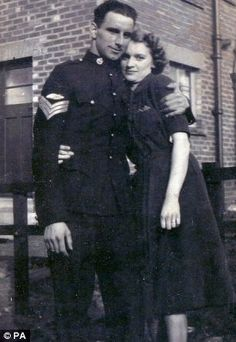 Fred and Elizabeth Noble - married in 1941, stayed married for 70 years, and died 3 days apart. This is true love.