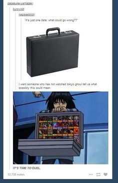 #TokyoGhoul and #YuGiOh