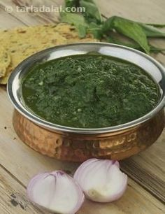Sarson ka Saag, Punjabi Sarson Ka Saag Recipe recipe | by Tarla Dalal | Tarladalal.com | #32800