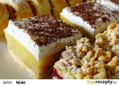 Lehký jablkový koláč recept - TopRecepty.cz Krispie Treats, Rice Krispies, Tiramisu, Sweet Tooth, Cheesecake, Pudding, Cookies, Ethnic Recipes, Fitness