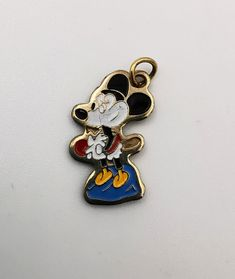 Minnie Mouse Vintage Metal Bracelet Charm Walt Disney Productions Cloisonne Style NEW old stock by VintageToysForAll on Etsy Kids Jewelry, Unique Jewelry, Disney Charms, Star Cards, Little Twin Stars, Metal Bracelets, Vintage Metal, Vintage Children, Happy Shopping
