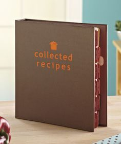Collected Recipes Holder|LTD Commodities