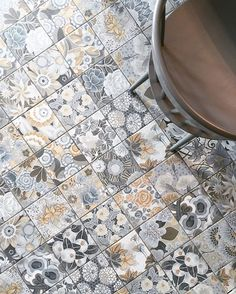 just can't get enough tile these days!!! thanks for contributing to the obsession @lifestyledbyserena on the #ckinthedetails feed. . #tiles #lookdown #ihavethisthingwithfloors #tileaddiction by coco.kelley