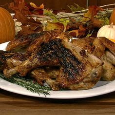 Michael Symon's Grilled Turkey - the chew - ABC.com