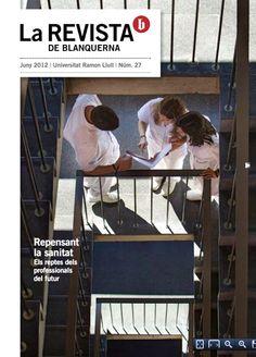 Coberta La revista de Blanquerna, 27, 2012 #design #university #Blanquerna