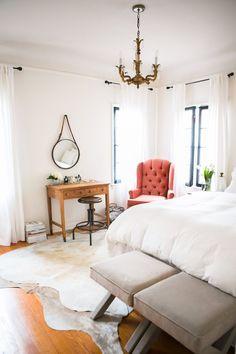 Beautiful, airy bedroom