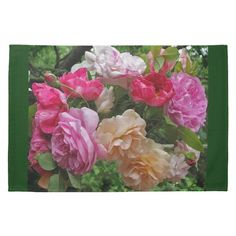Old Fashioned Roses Kitchen Towels