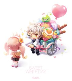Eight Classes of MapleStory 2 First Announced by Nexon Anime Chibi, Anime Art, Character Illustration, Illustration Art, Maplestory 2, Illustrations, Cute Characters, Kawaii Cute, Anime Comics