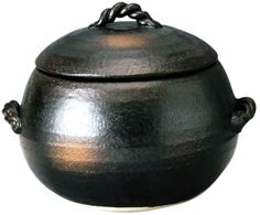 Rice Pot Yokkaichi Banko 3 Go Round Type * Check out the image by visiting the link-affiliate link.