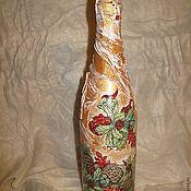 Купить или заказать Подарочные бутылки к Новому году в интернет магазине на Ярмарке Мастеров. С доставкой по России и СНГ. Срок изготовления: 5-8 дней. Материалы: стекло, акриловые краски, акриловый…. Размер: Соответствует размеру бутылки