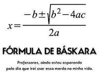 Para que serve a fórmula de Bhaskara? - Facebook